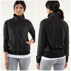 Lululemon Blissed Out Jacket in Black